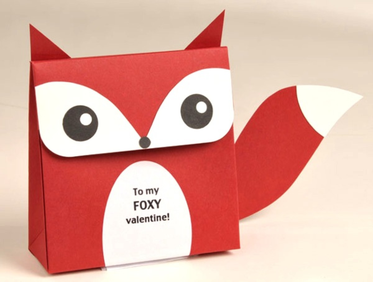 Amazing Handmade Fox Box or Gift Card