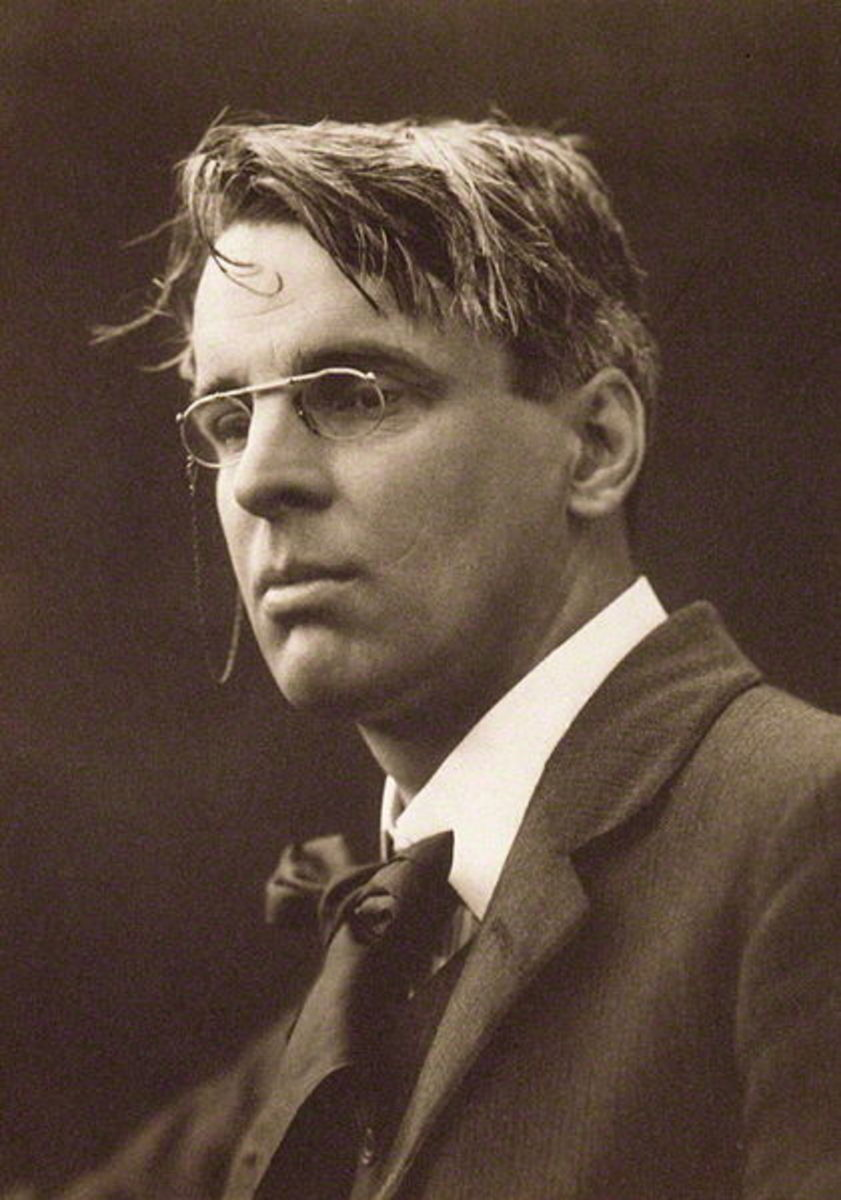 W.B. Yeats in 1911, a year after he wrote The Mask.