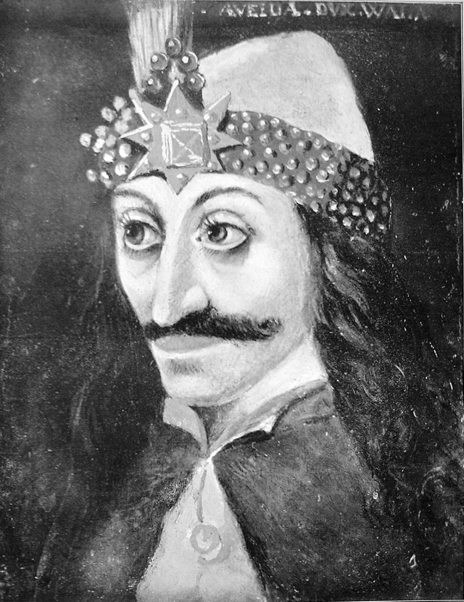 Vlad Tepes, also known as Vlad the Impaler, was one of the inspirations behind Count Dracula.