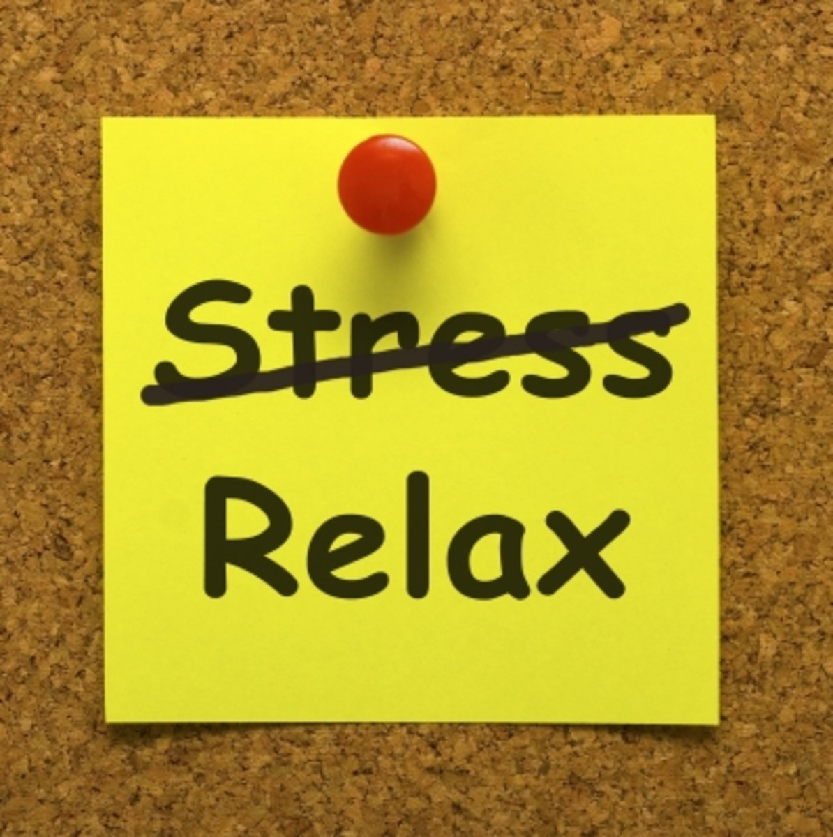 Choose relaxation over stress.