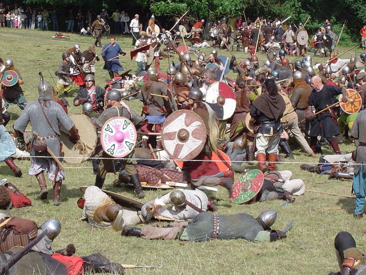'The Viking battle'