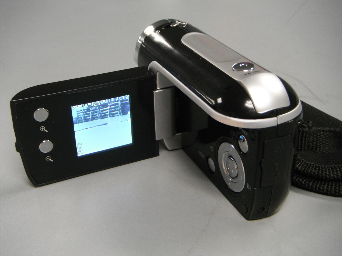 Rear view of the Vibe camera.