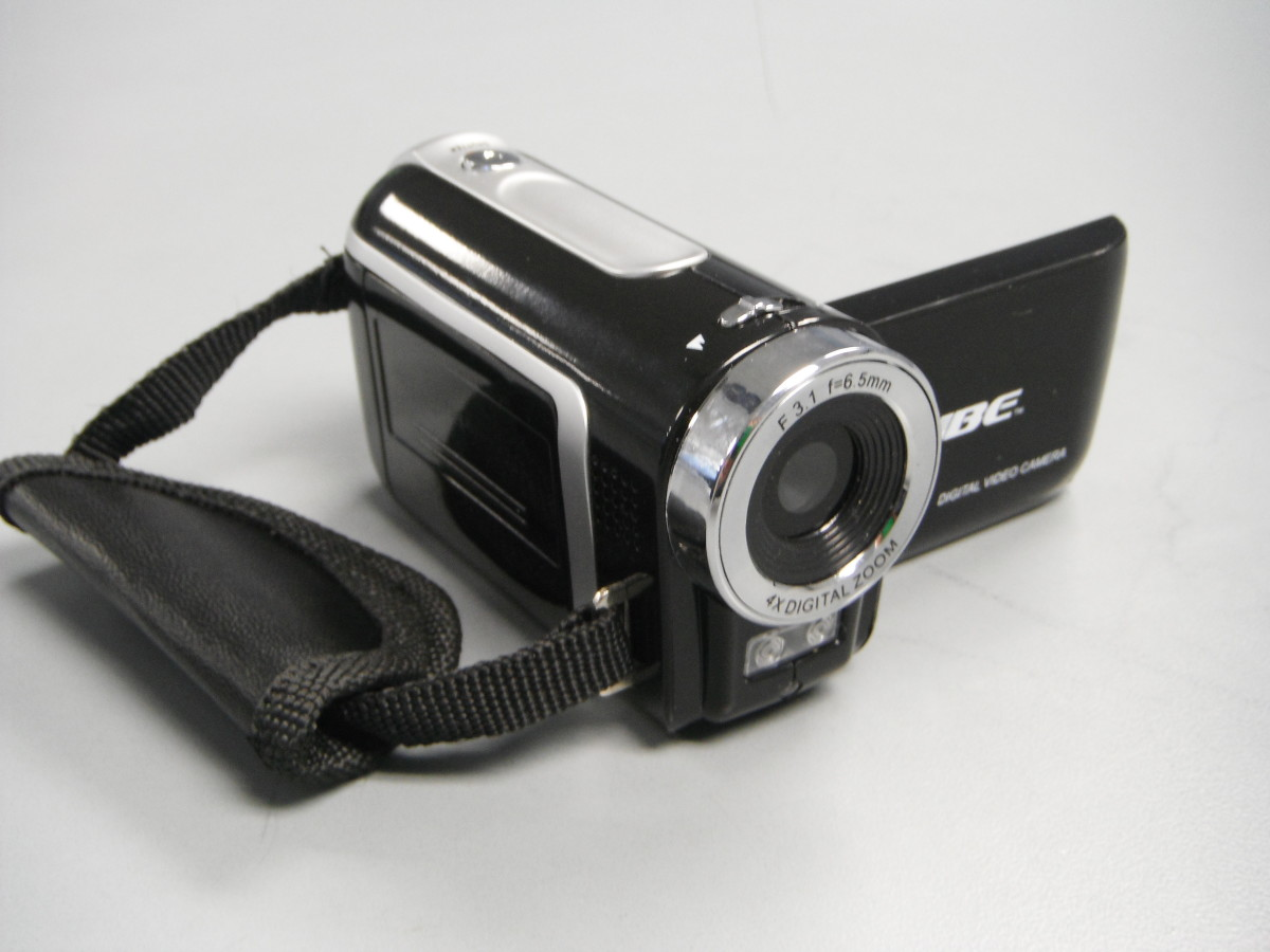 The Vibe Digital Video Camera Front View.