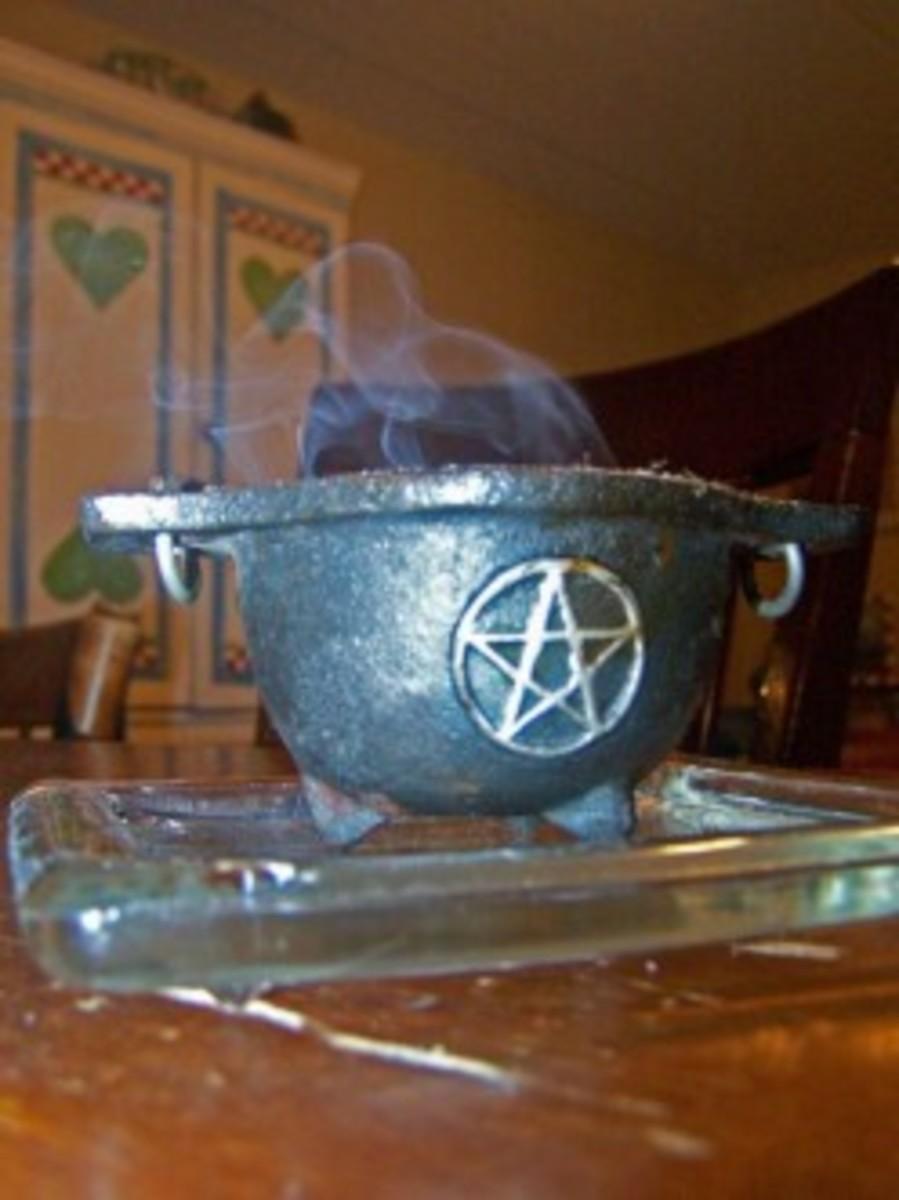 One of my censors is a cute mini-cauldron.