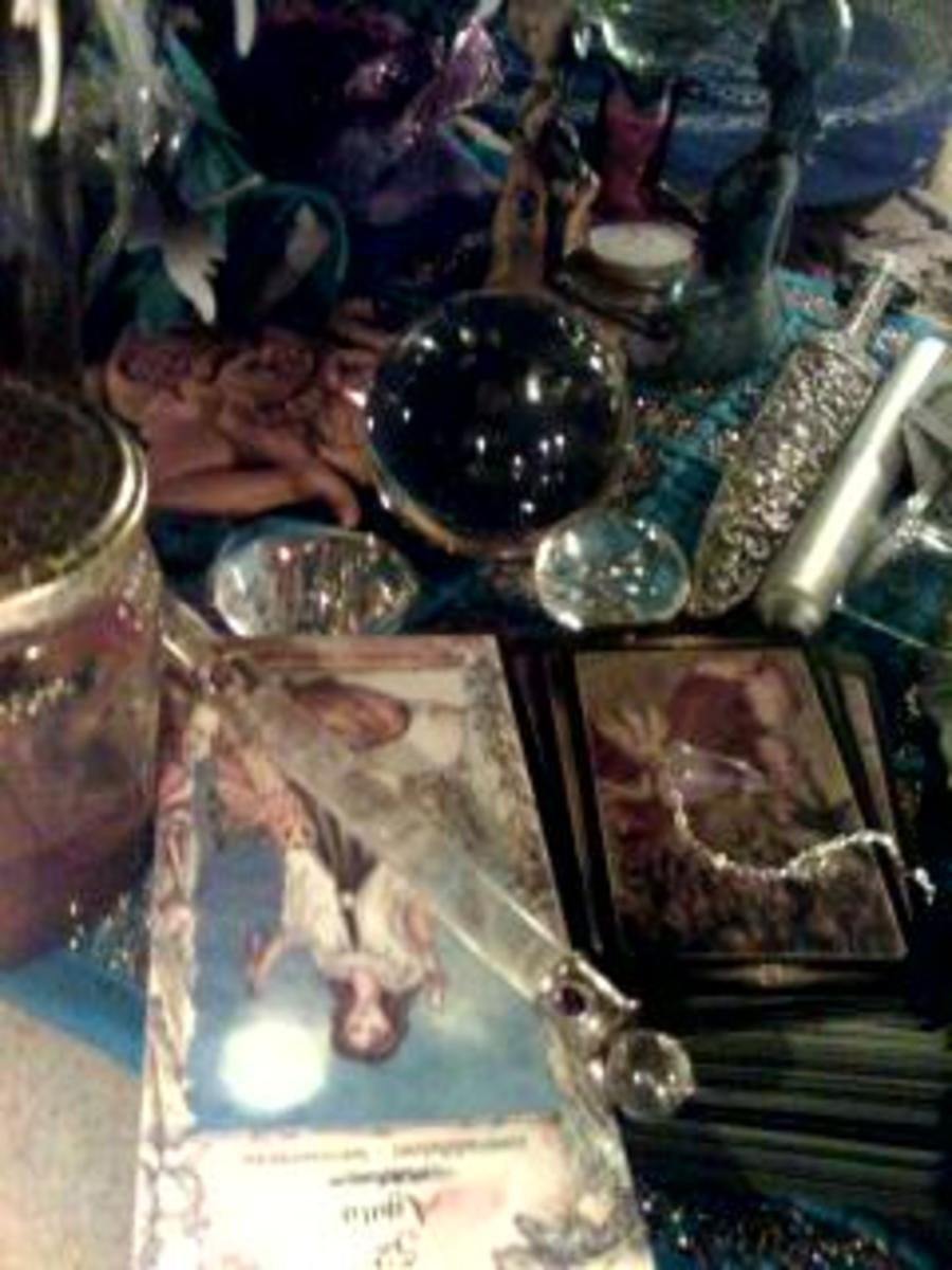 Wiccan tools and more