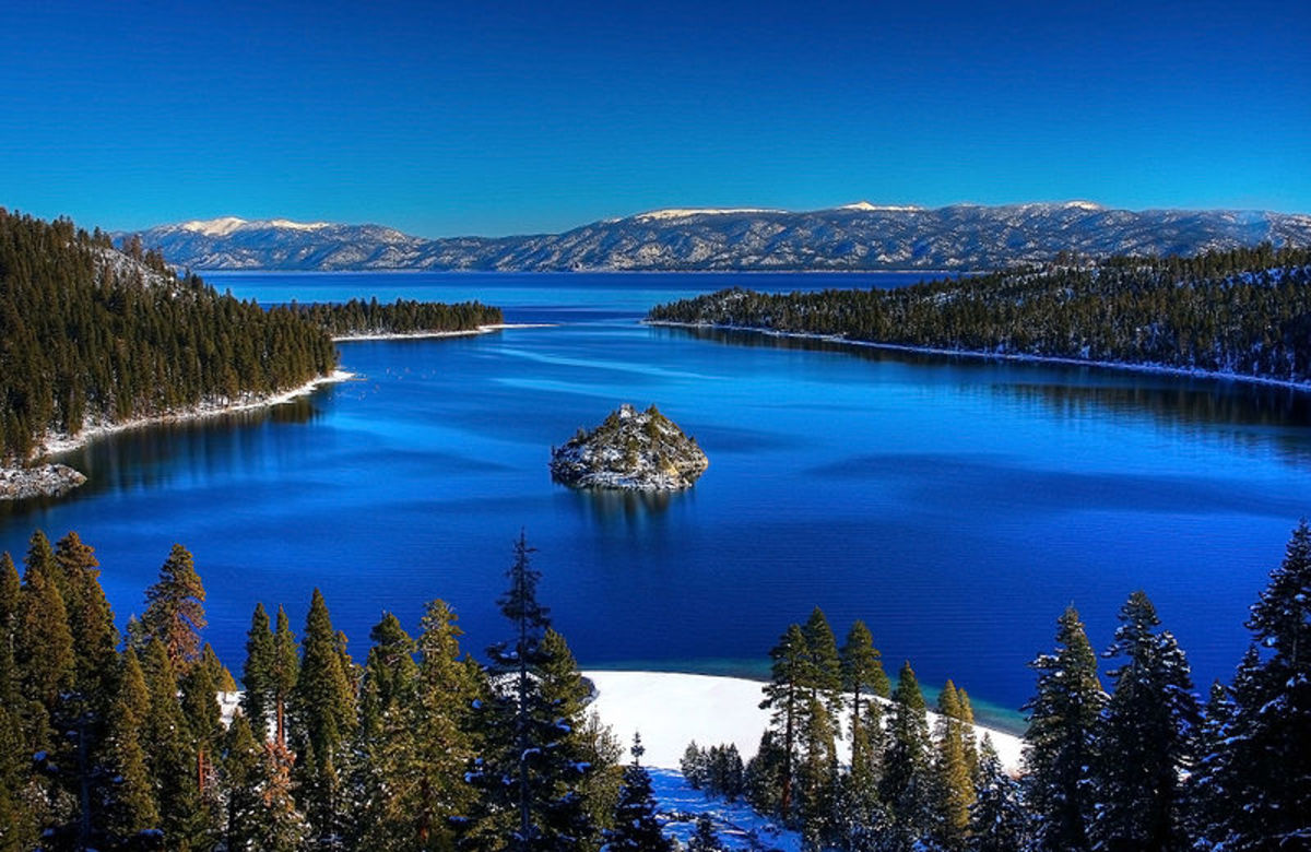 Emerald Bay, Lake Tahoe.
