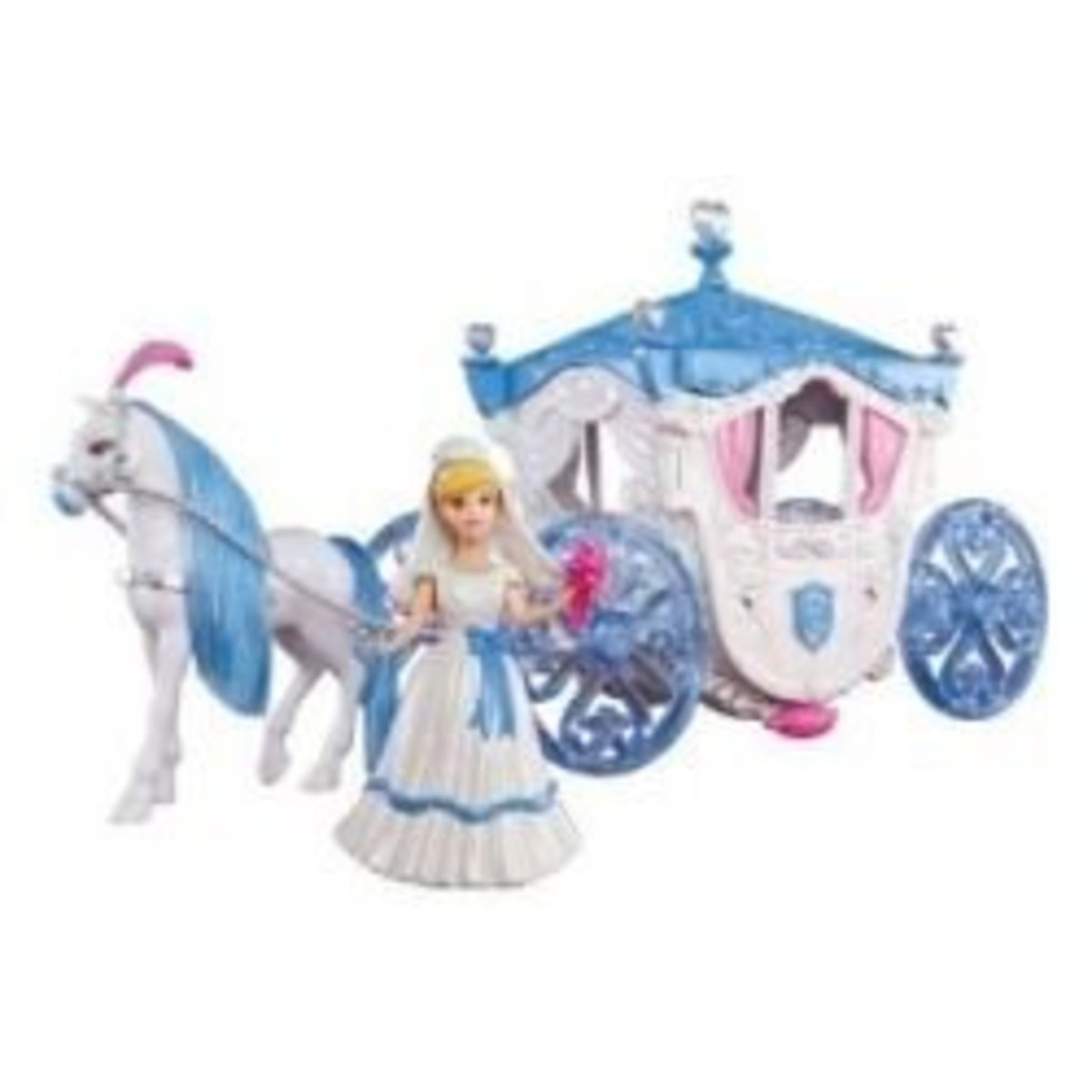 Cinderella Toy Horse and Carriage Castle Playset