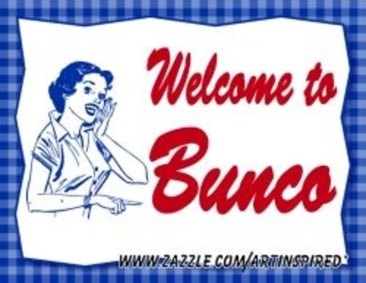 Bunco Welcome Sign BY Artinspired