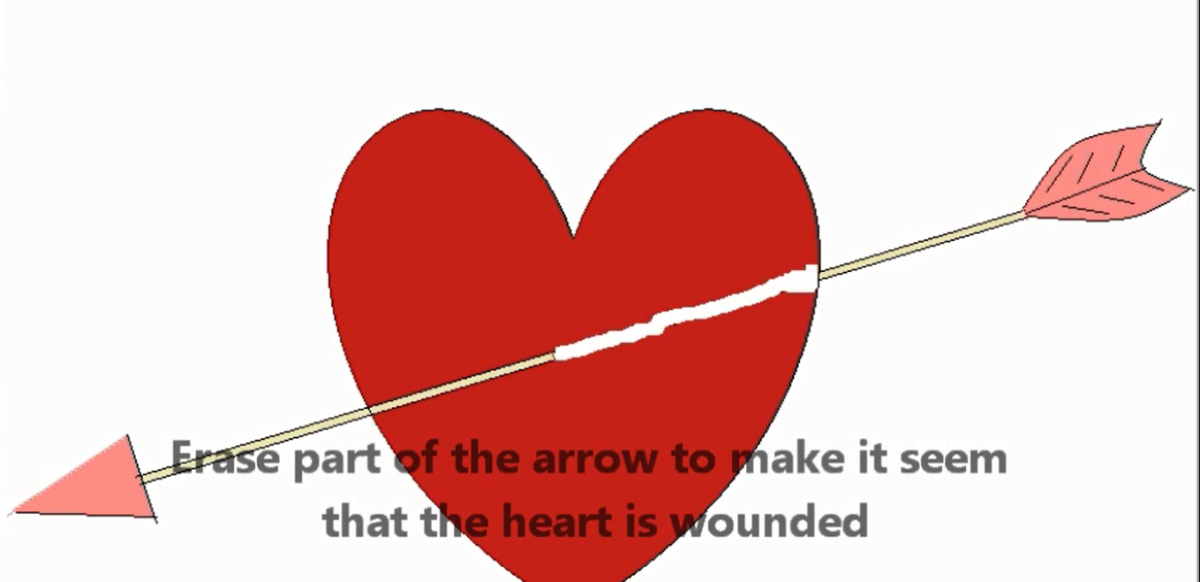Erase Part of the Heart