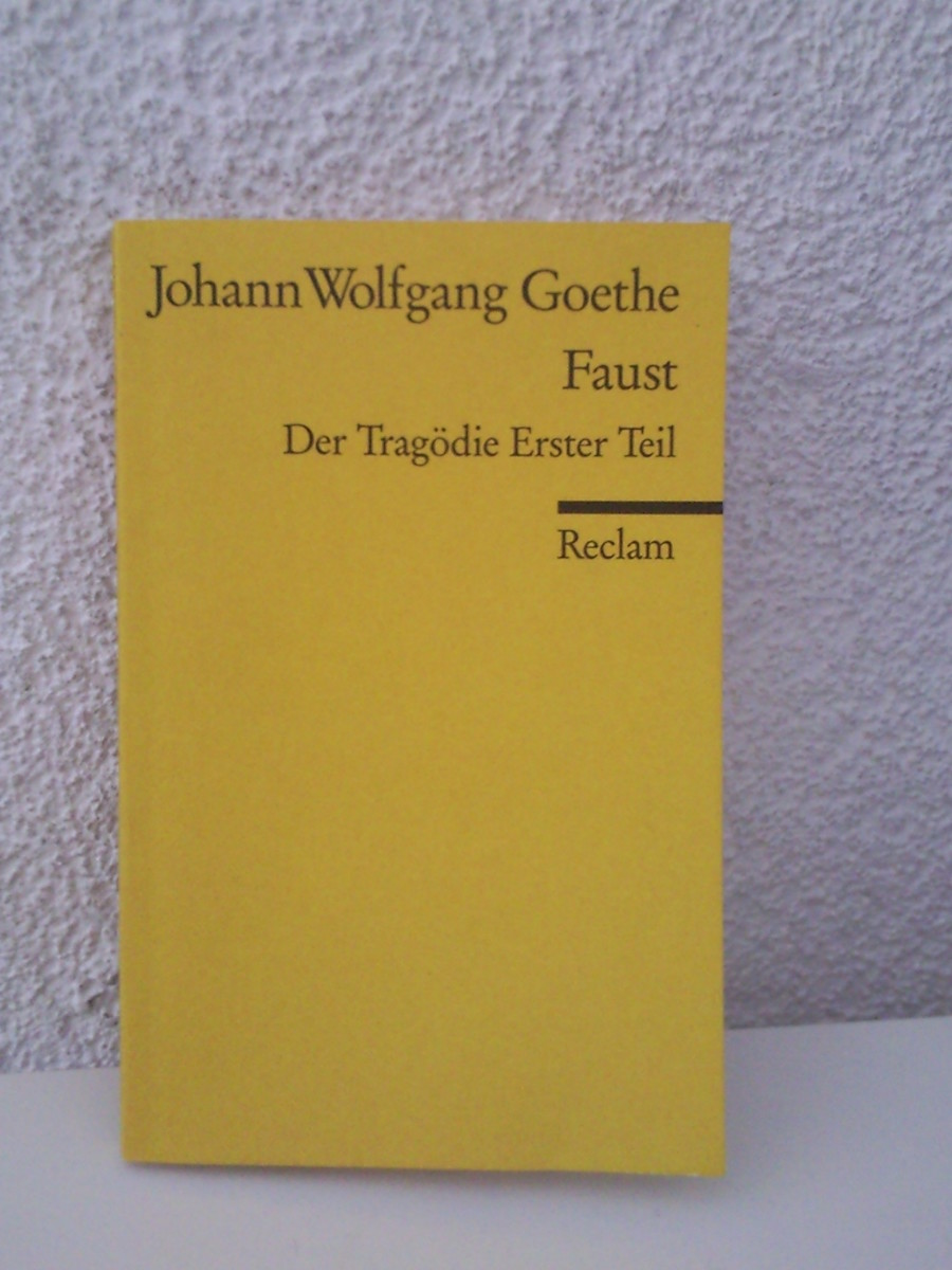 a literary analysis of the first part of faust by johann wolfgang von goethe Faust is a tragic play in two parts by johann wolfgang von goethe, usually  known in english as faust, part one  faust part one takes place in multiple  settings, the first of which is heaven the demon mephistopheles  goethe's  faust has inspired a great deal of literature, music, and illustration paul carus ( 1852-1919).