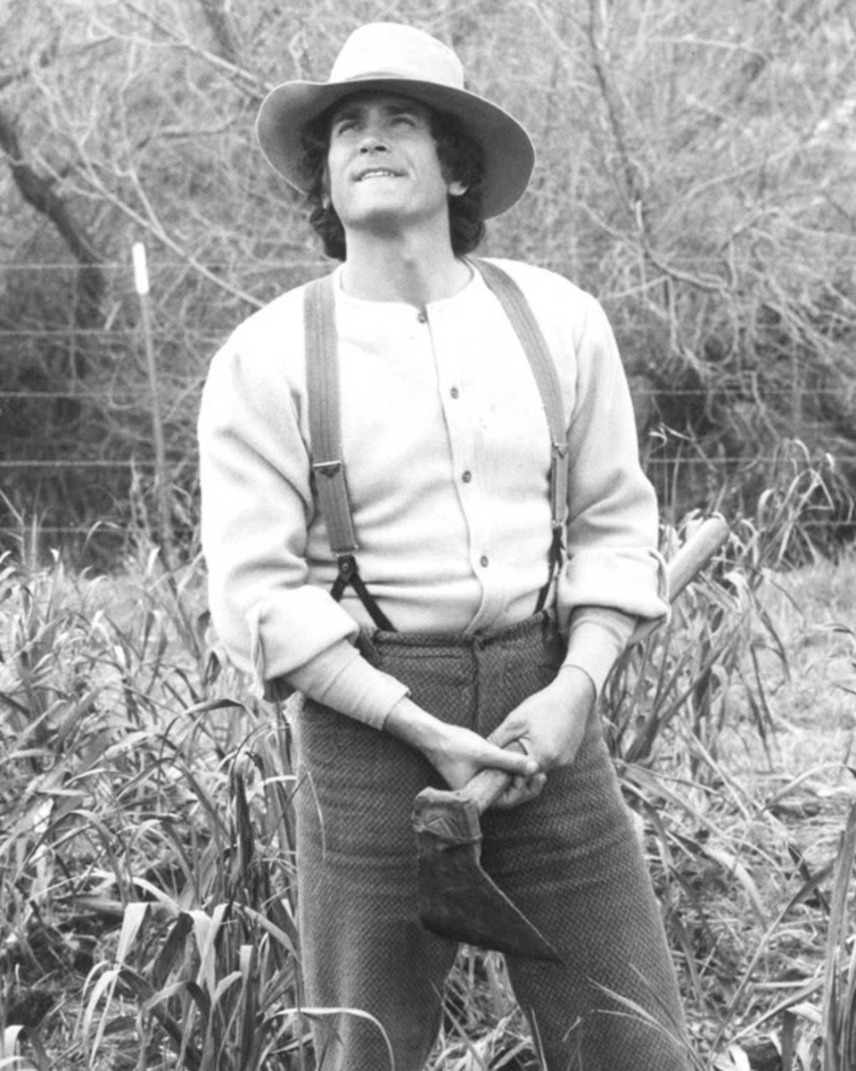 Pa (played by Michael Landon) needed some life lessons repeated--such as never take credit!