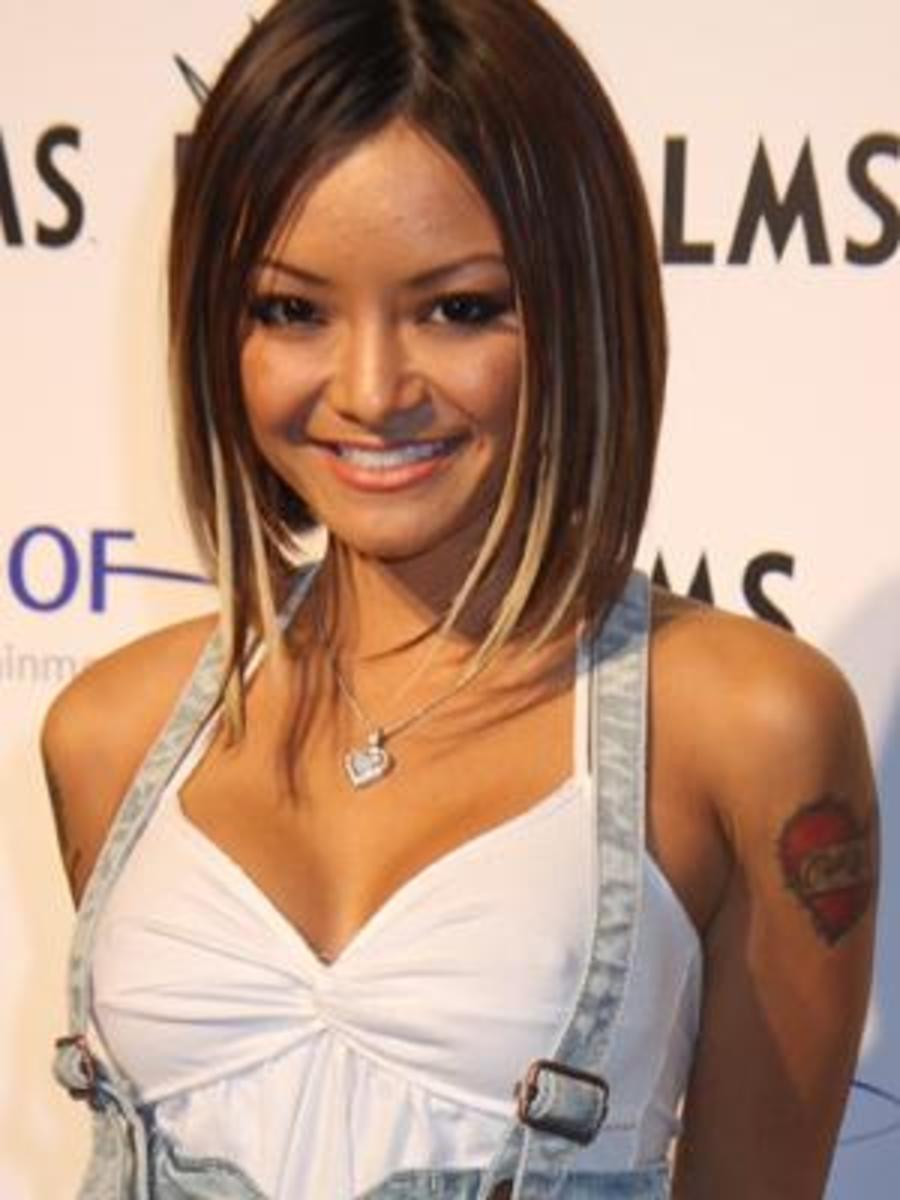 Tila Tequila with Asian Blonde Highlights