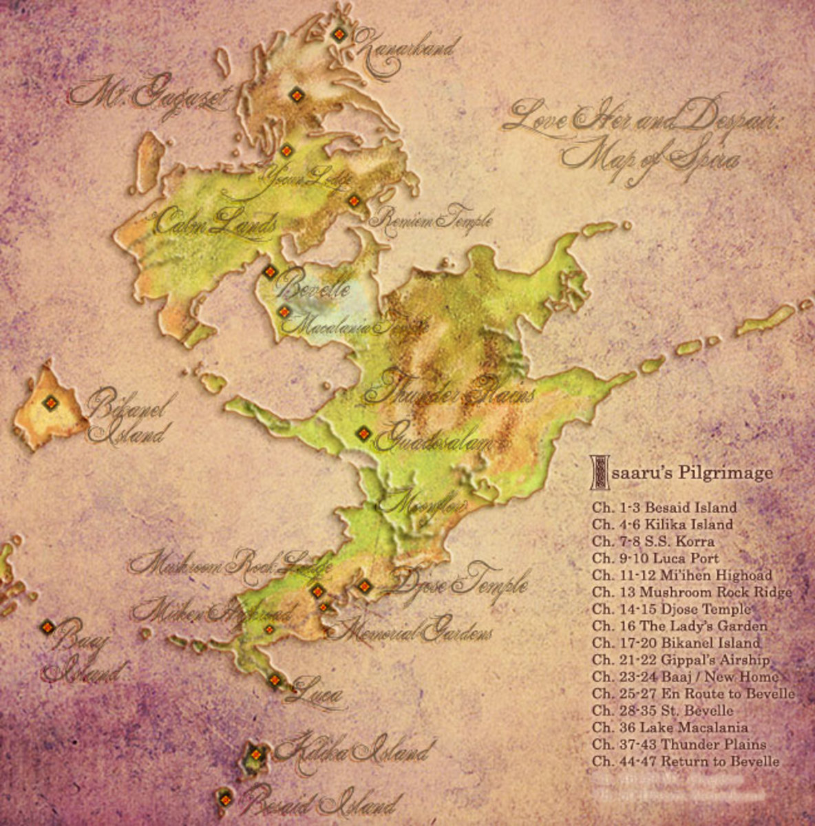 Final Fantasy Maps by Auronlu