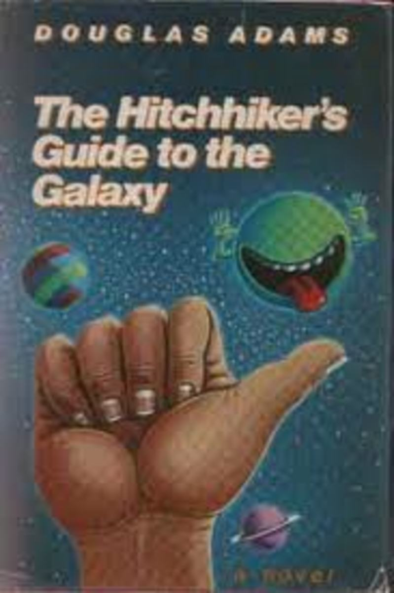 Douglas Adams much loved space comedy.