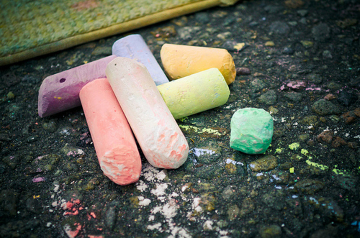 How to Recycle Old Chalk