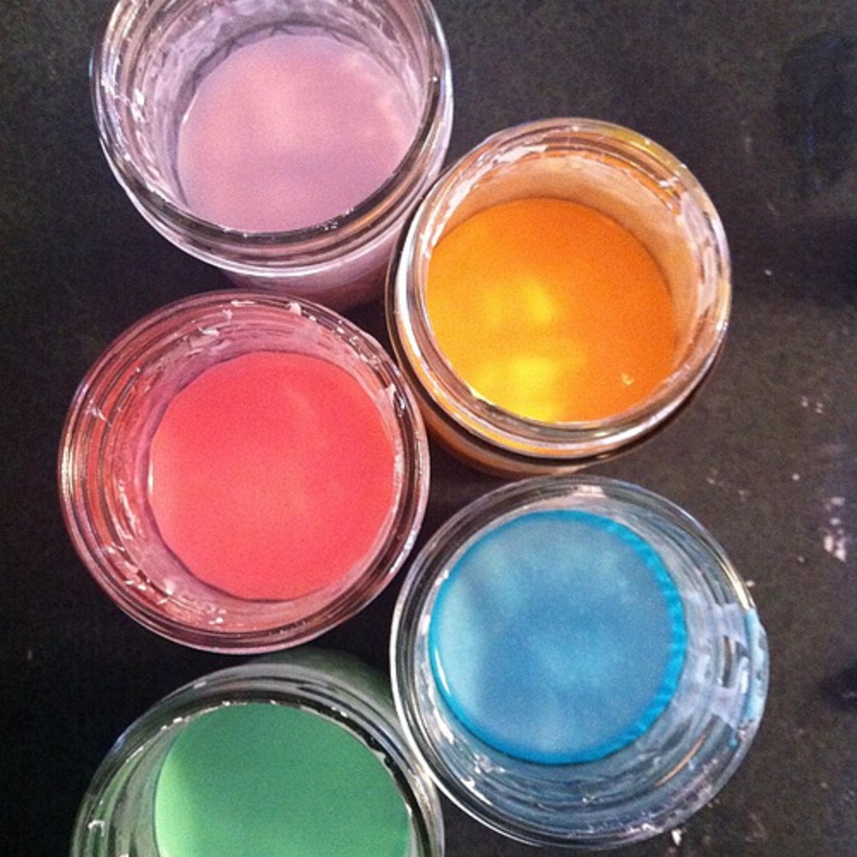 Chalk Paint In Different Colors