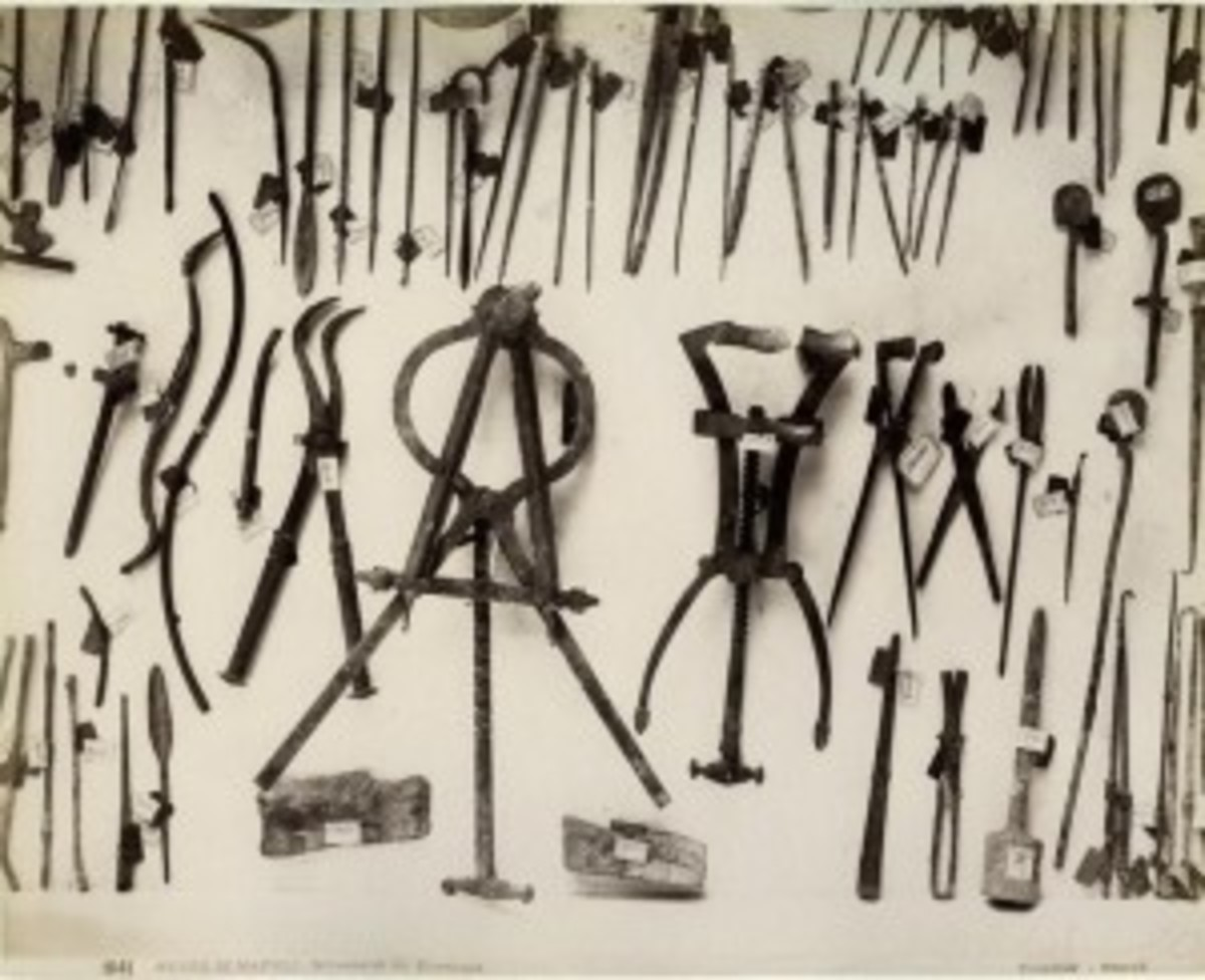 Ancient Medical Tools