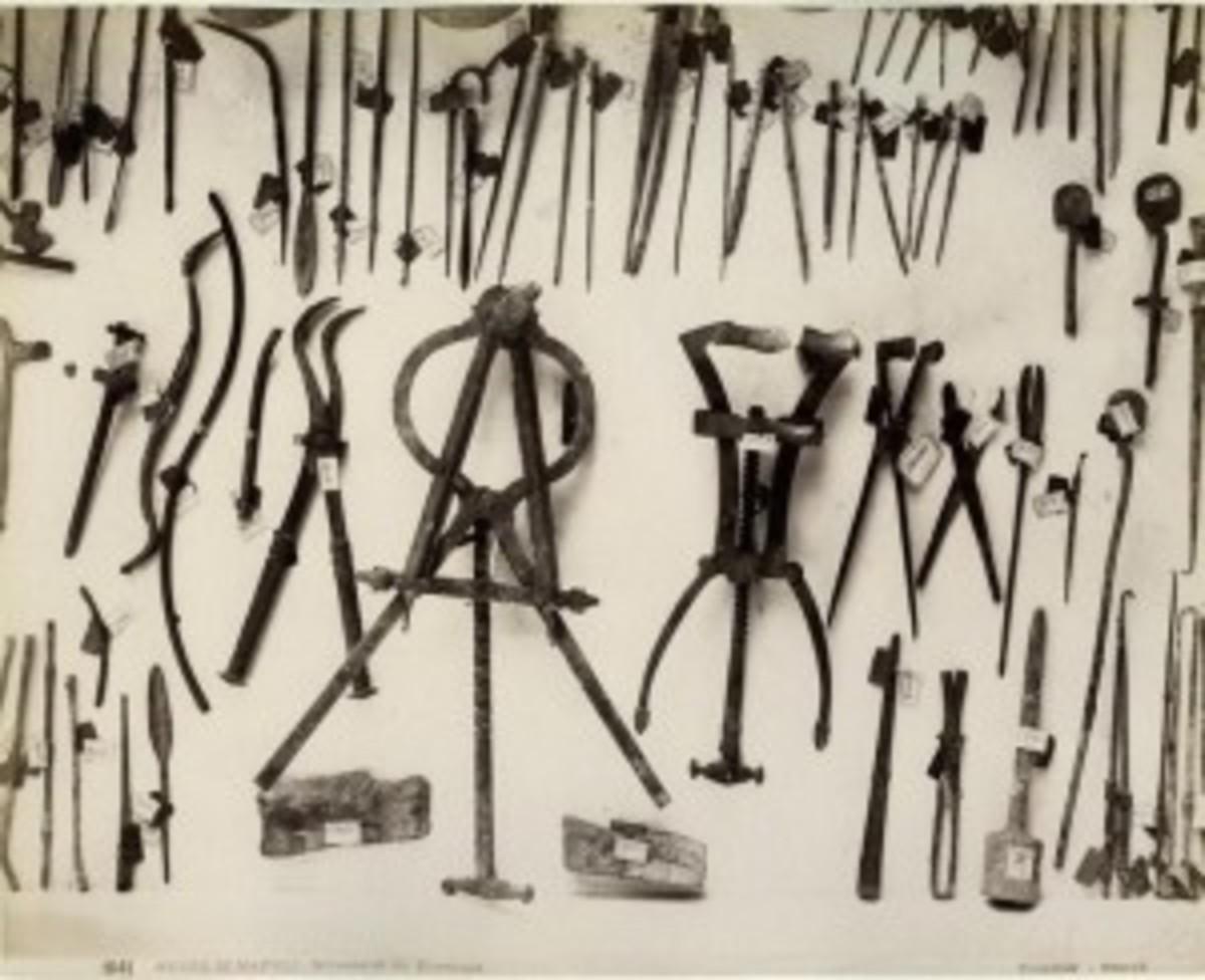 Ancient Medical Tools