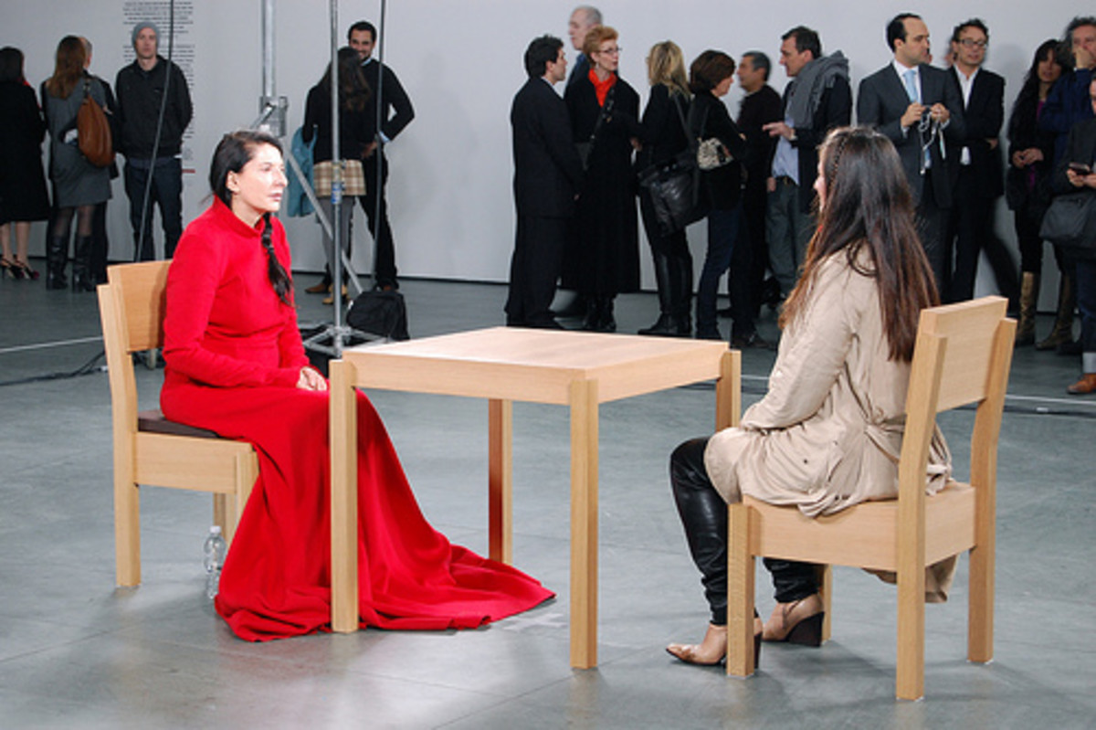 Many who sat and shared a minute's silence with artist Marina Abramović during The Artist is Present were moved to tears.