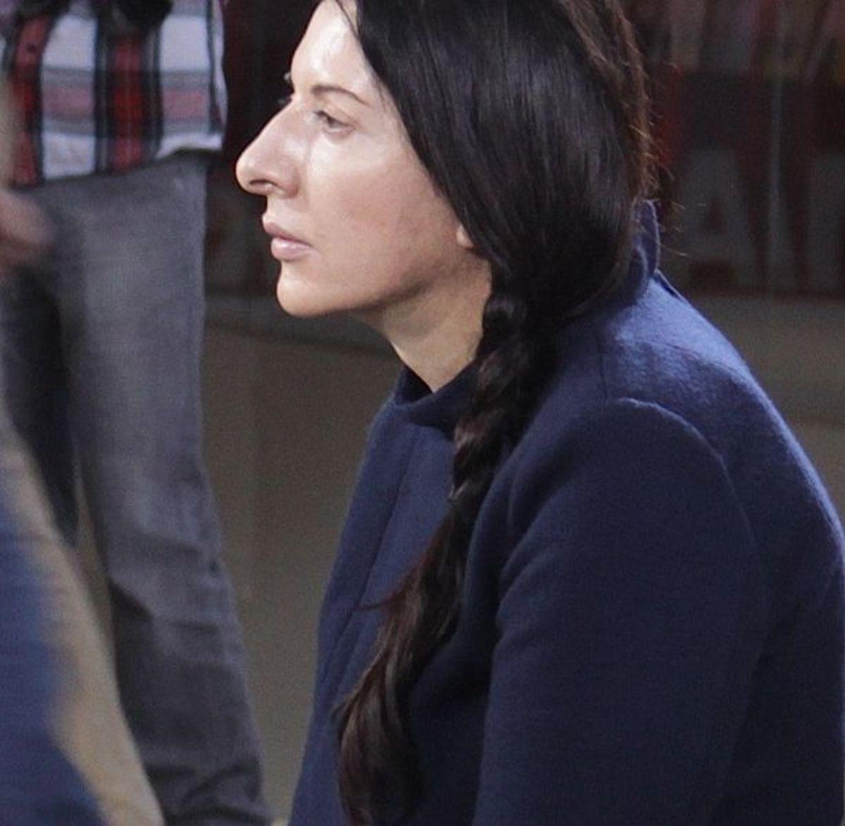Performance Artist Marina Abramović.