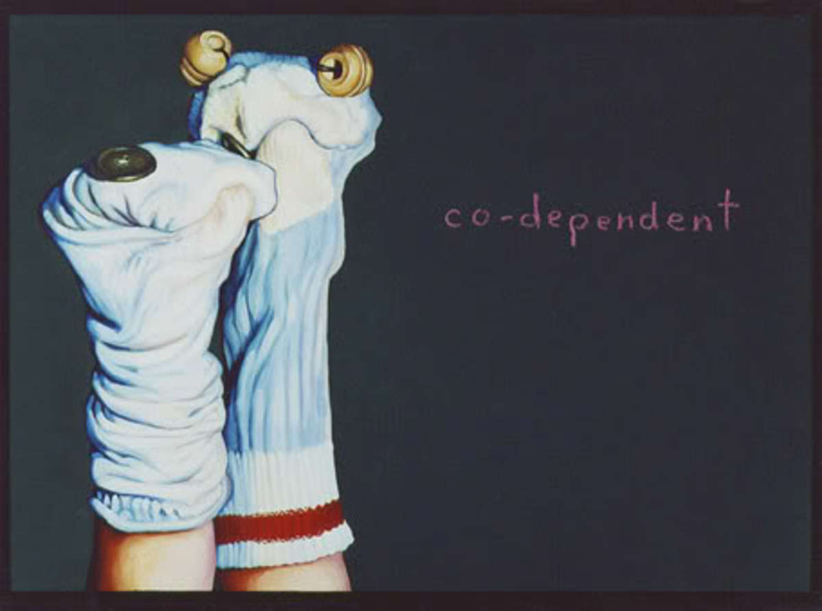 Codependent no more! Signs and symptoms of being in a codependent relationship.