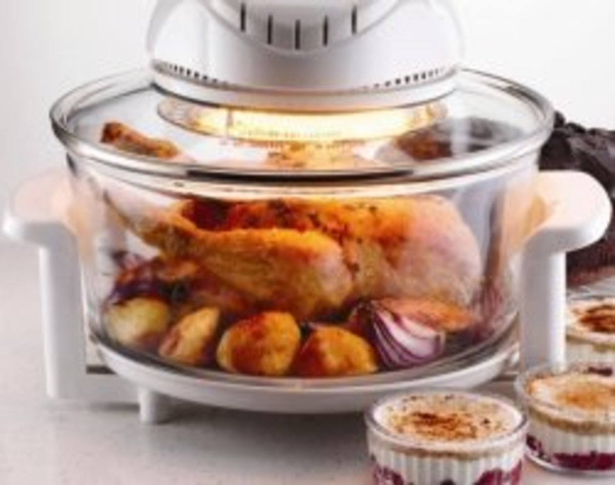 Countertop Convection Oven Recipes and Halogen Oven Recipes