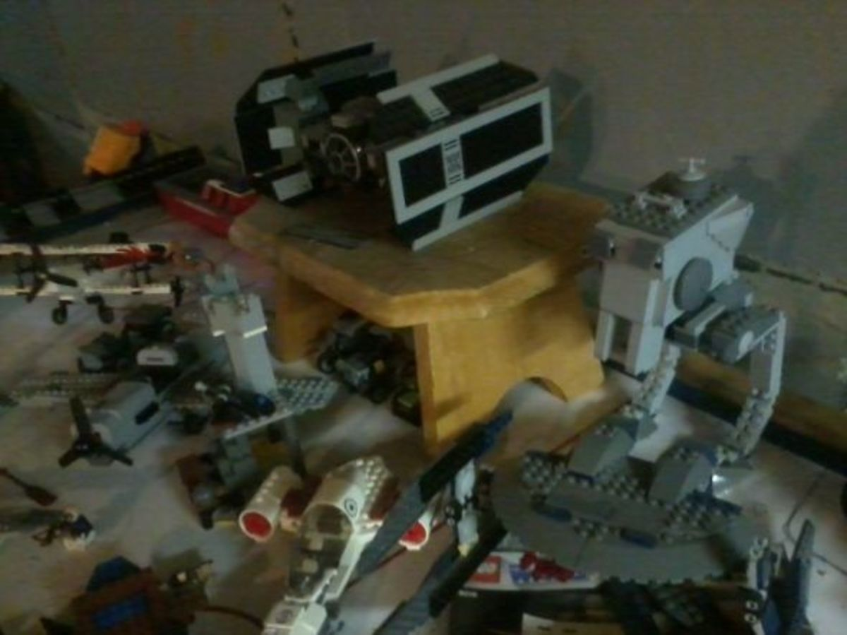 Lego Staging Area