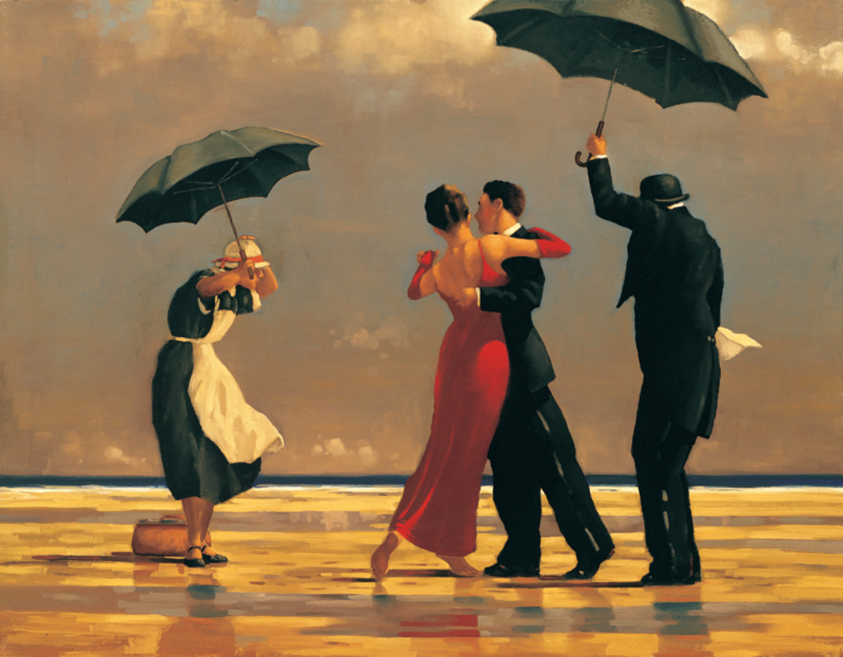 'The Singing Butler' - Vettriano's most famous work