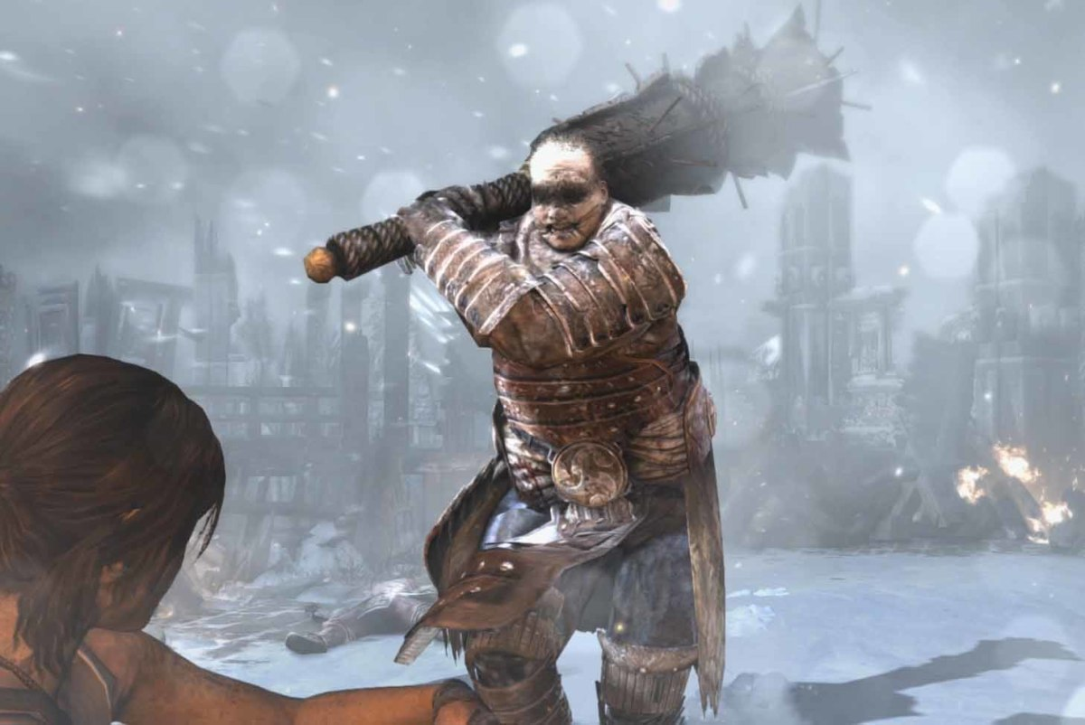 Tomb Raider Defeat the Storm Guardian