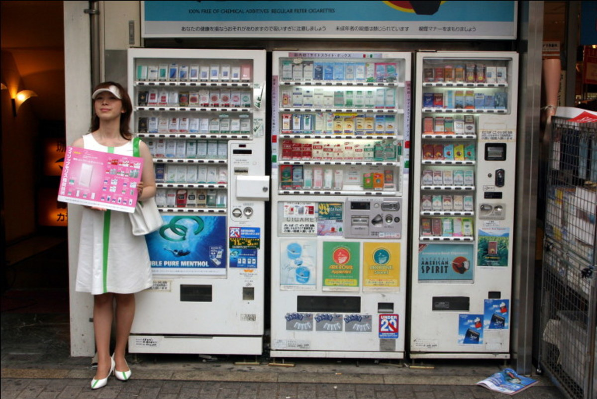 10 Types of Vending Machines