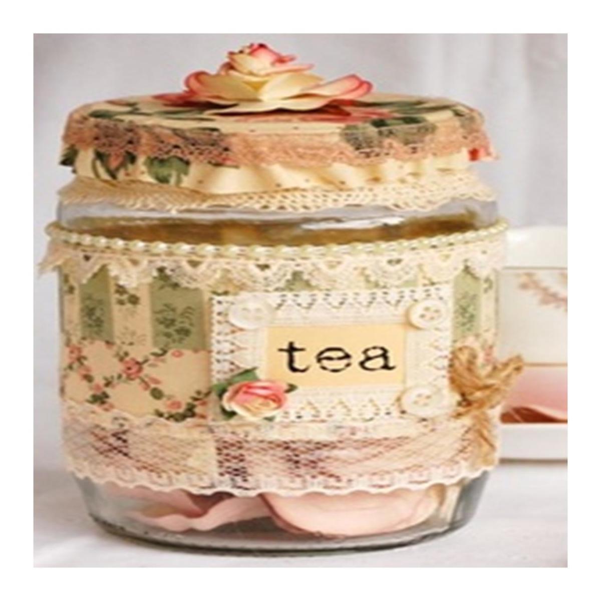Gifts in a Jar - Tea Mixes