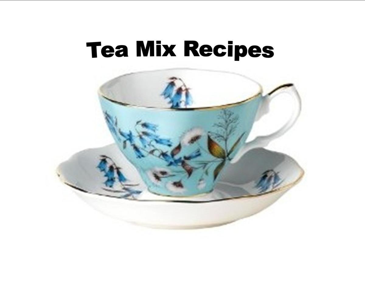 Just a few tea mix recipes