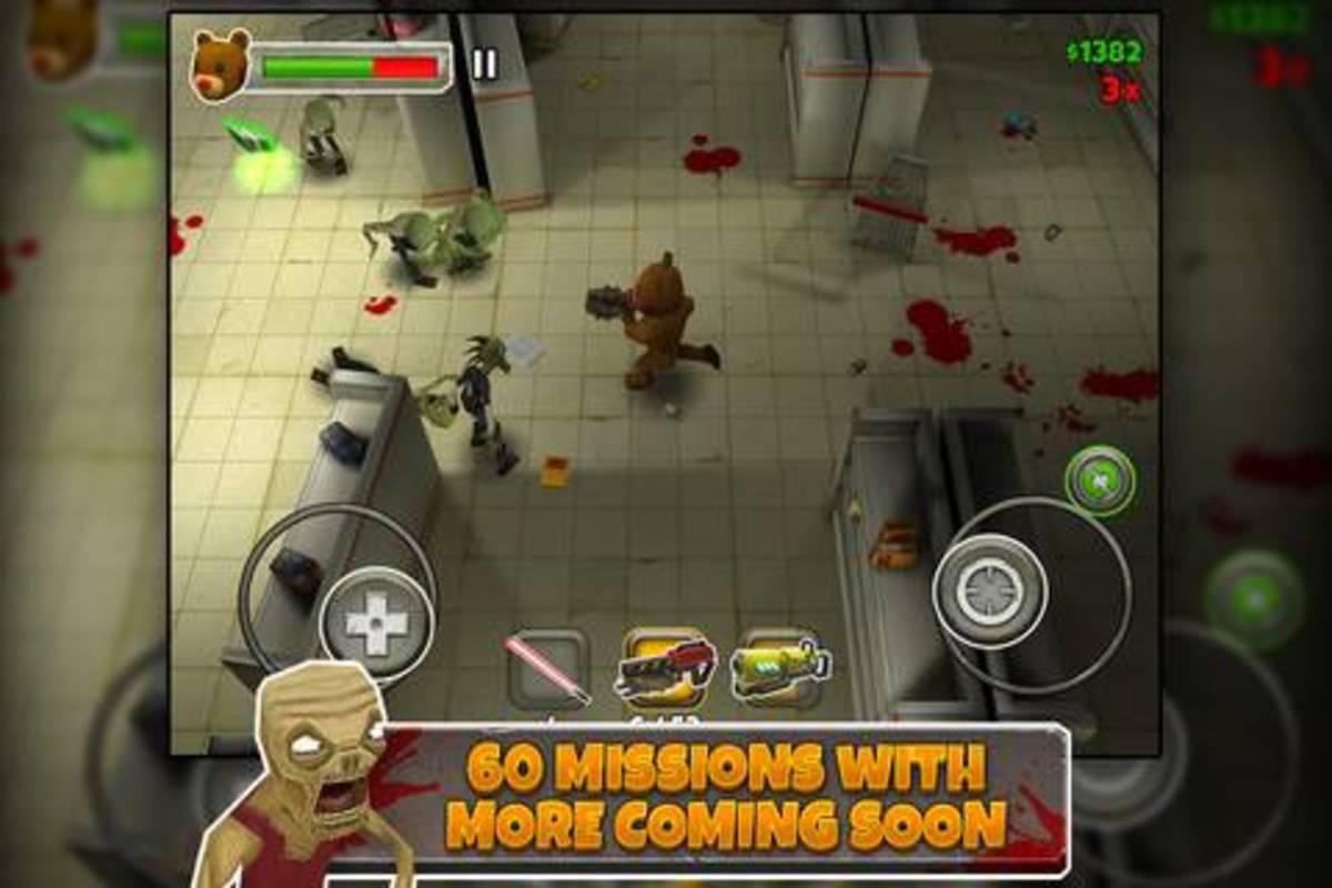 Killing zombies dressed as a teddy bear?...TAKE MY MONEY!!!!! oh wait...