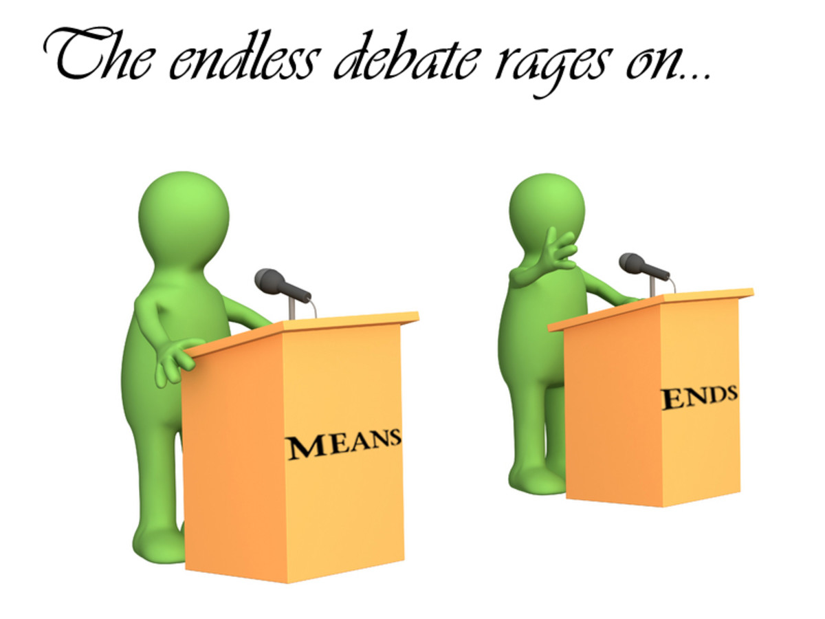 Debate: Are Means more important than the Ends - an experience with Sri Sathya Sai
