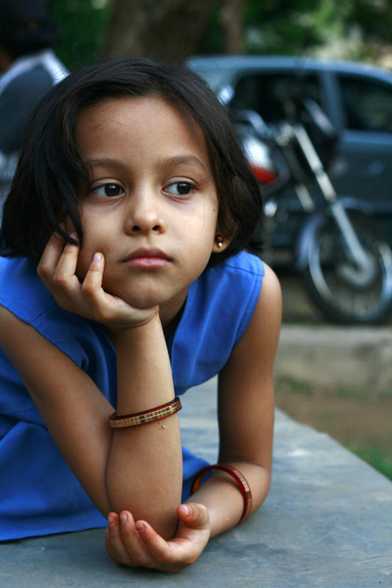 Children can be affected by Dysthymia