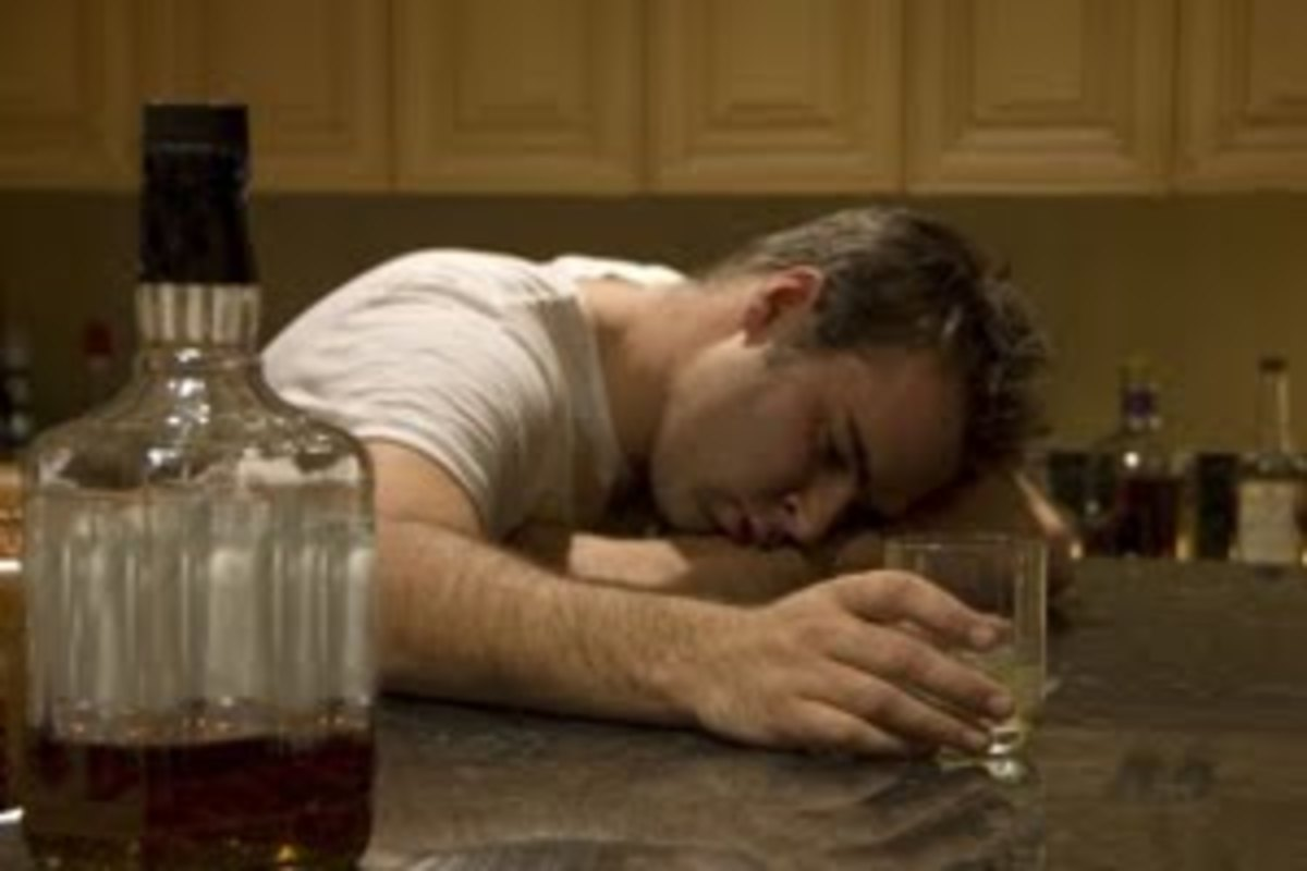 Men are most likely to mask Depression with alcohol.