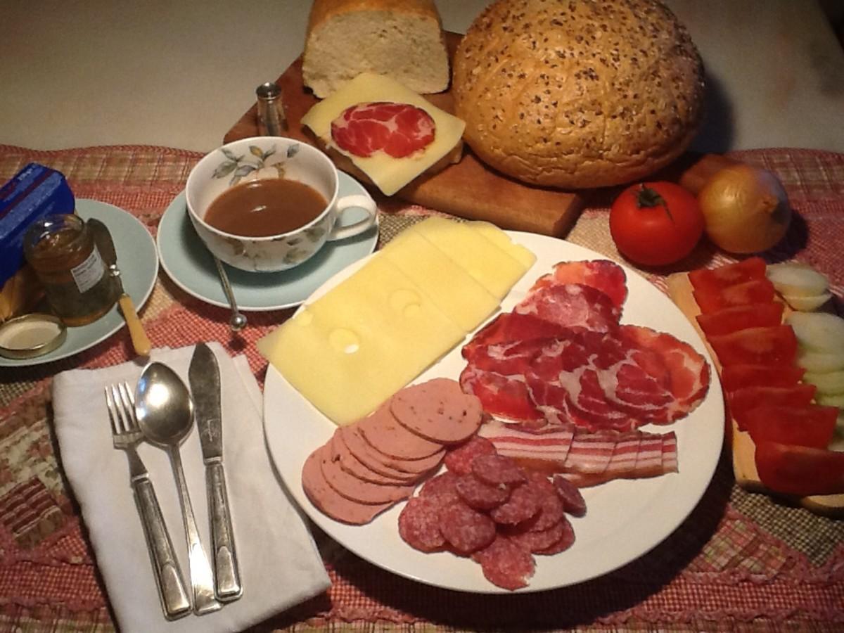 Croatian Breakfast