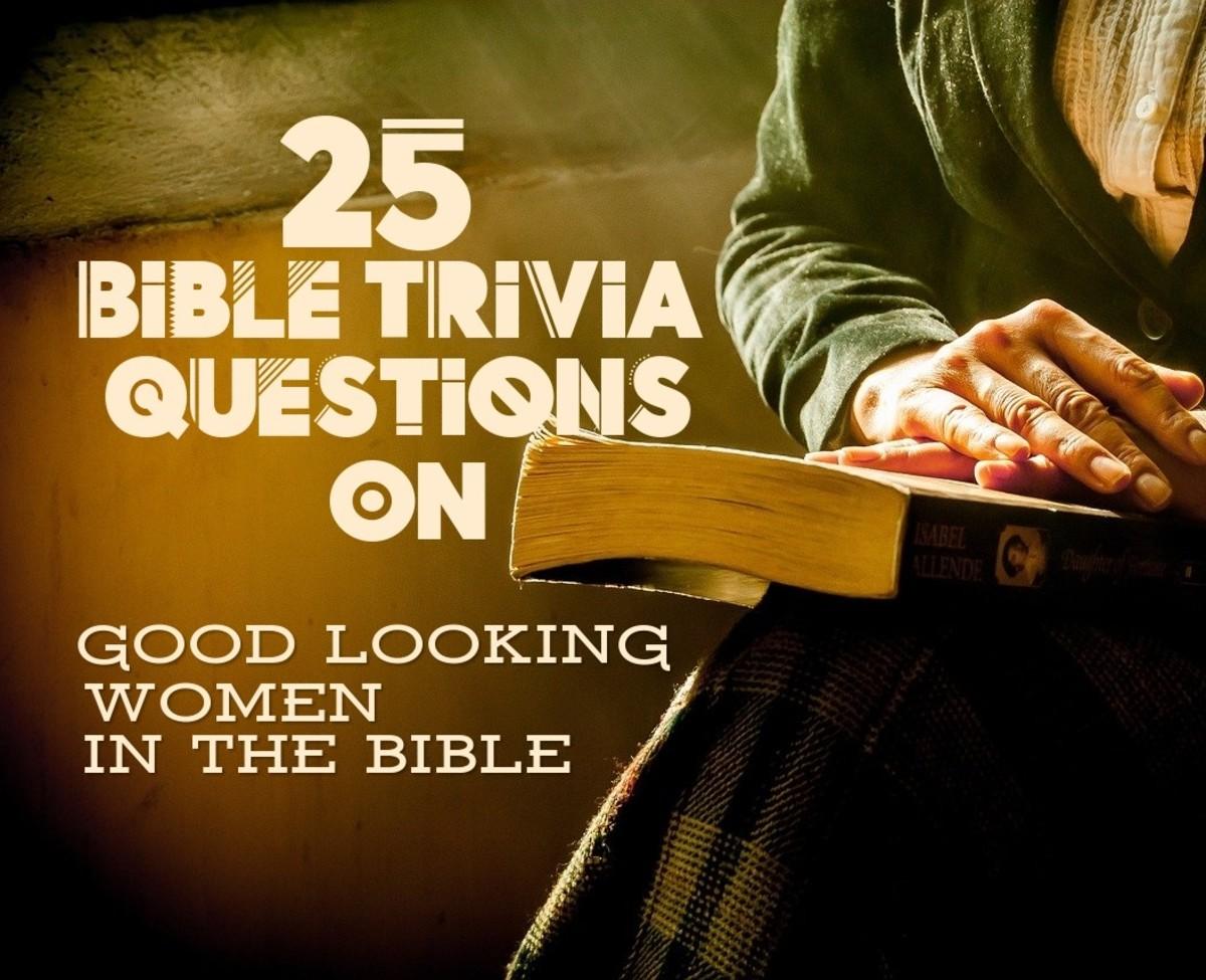 Good Looking Women in the Bible