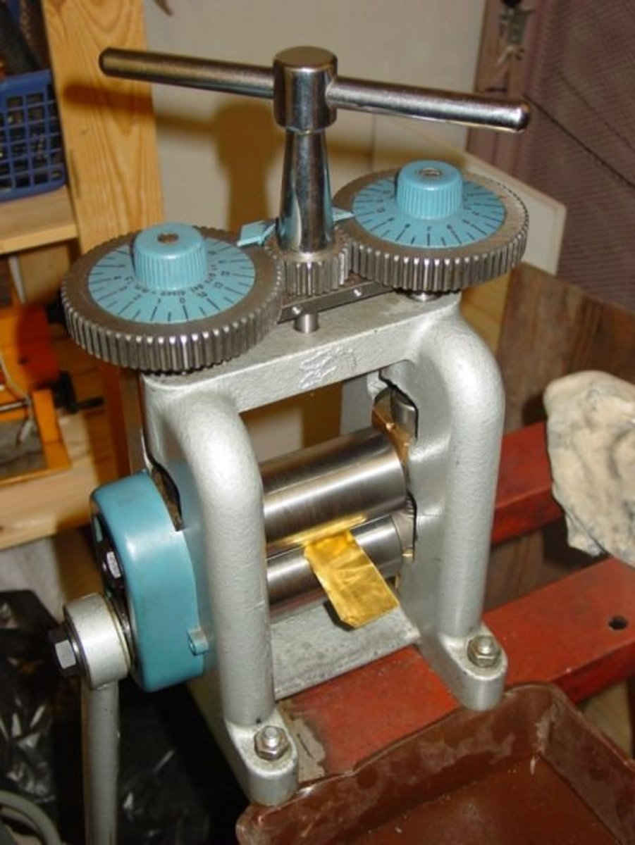 Using A Rolling Mill To Texture Metals Hubpages