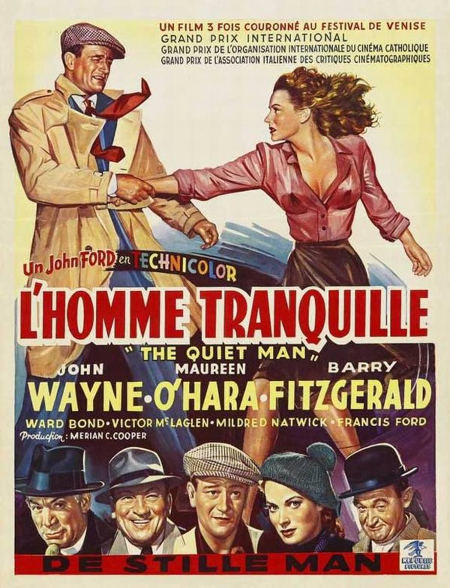 The Quiet Man (1952) Belgian poster
