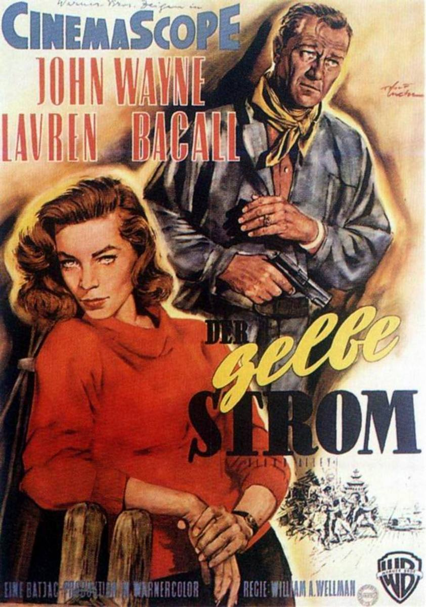 Blood Alley (1955) German poster