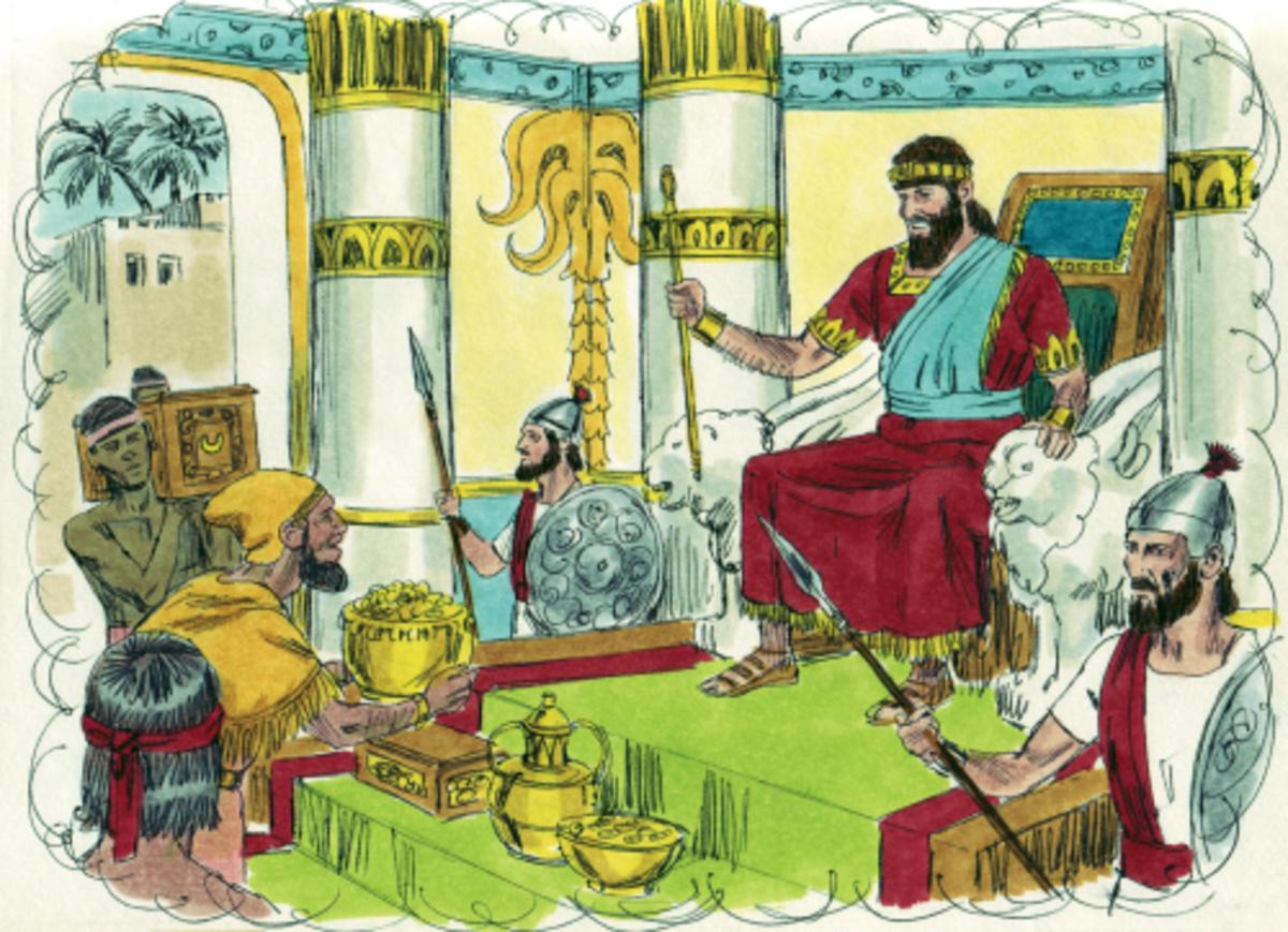 Solomon chooses wisdom