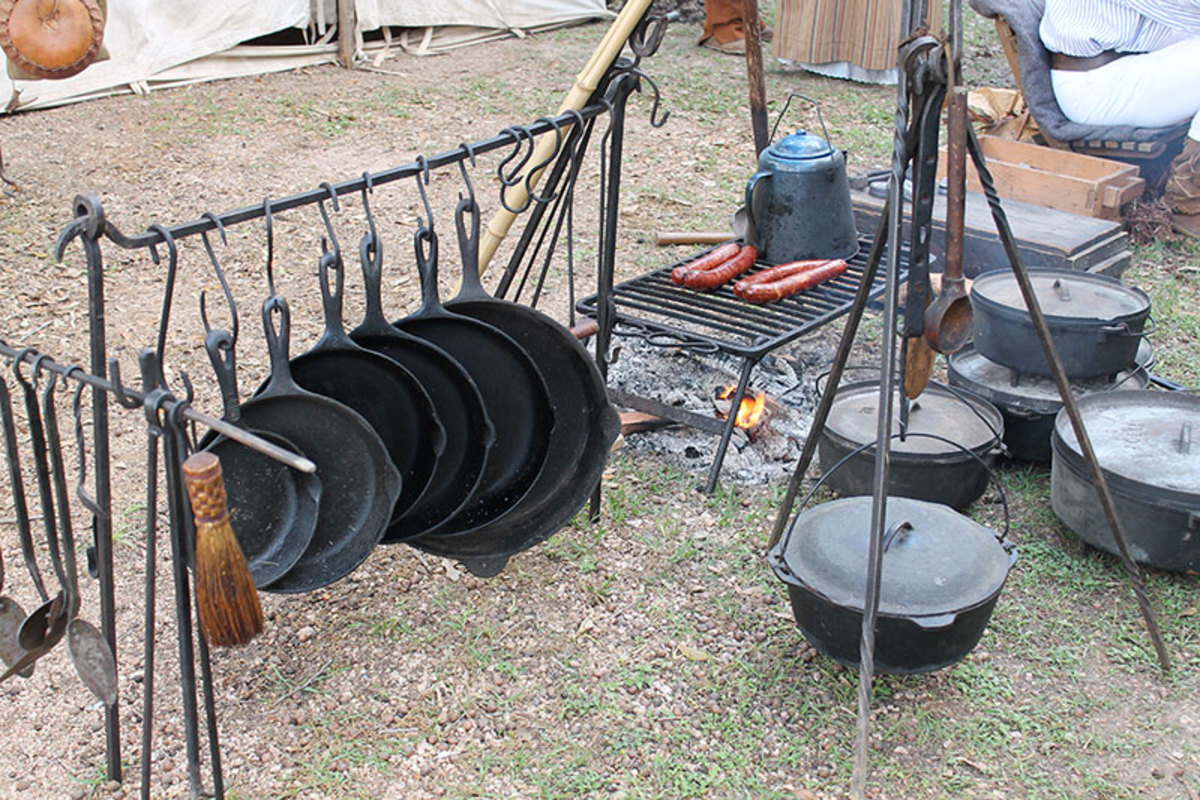 Outdoor trail cooking