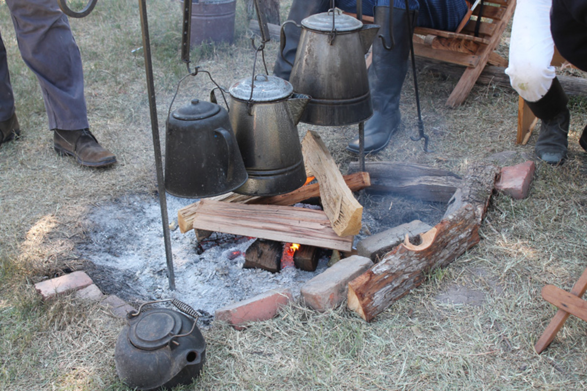 Trail Ride Campfire Cooking