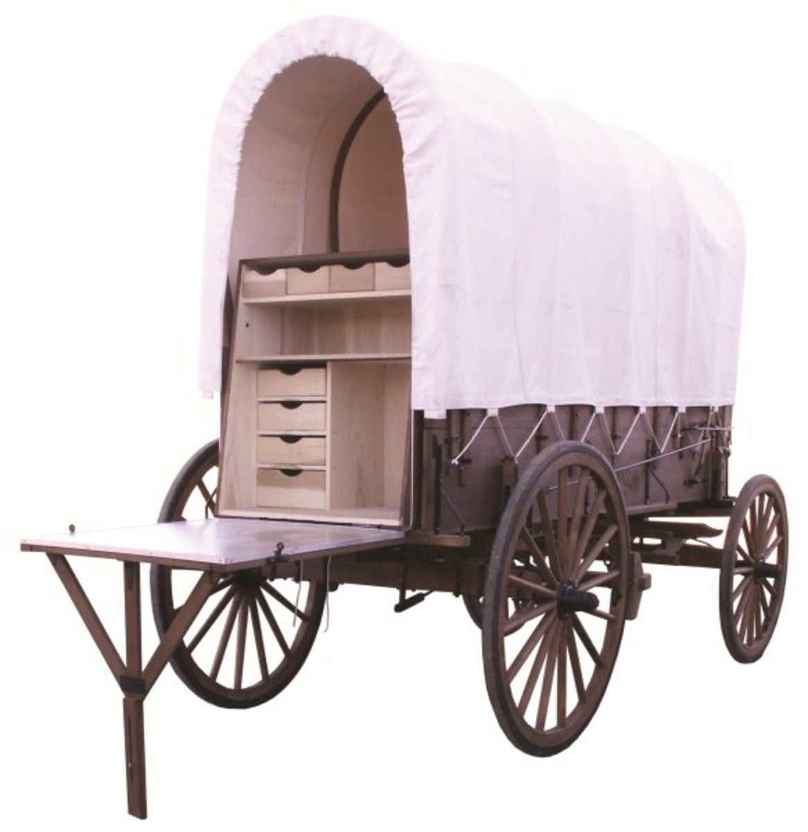 Complete Amish Built Chuck Wagon