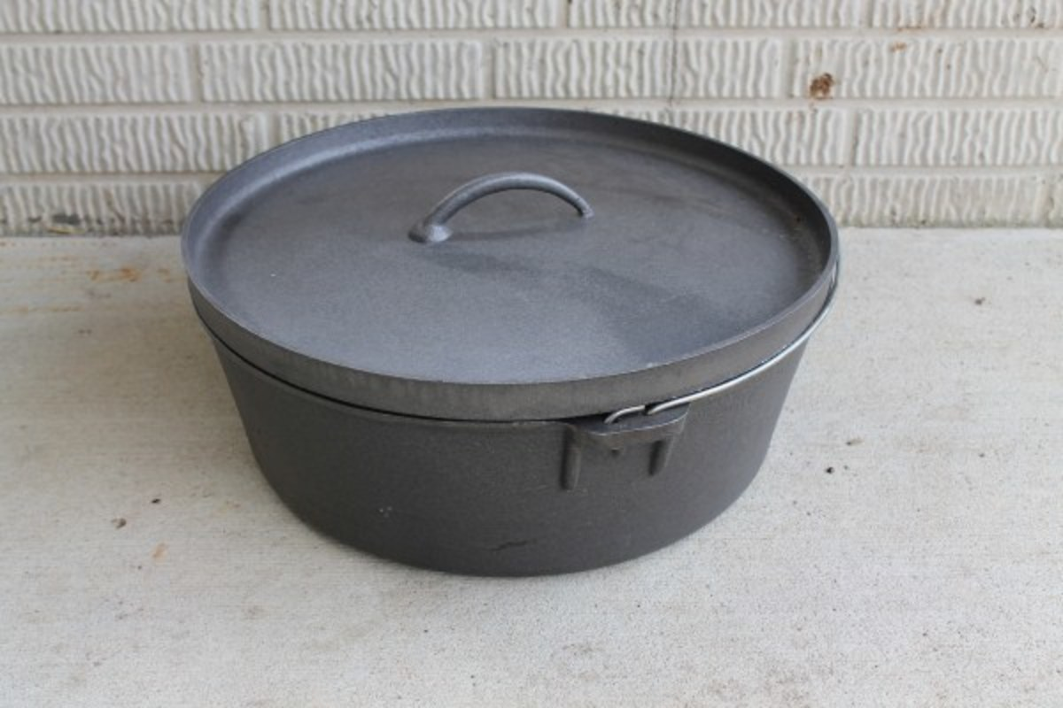 Cast Iron Dutch Oven from Cottage Craft Works