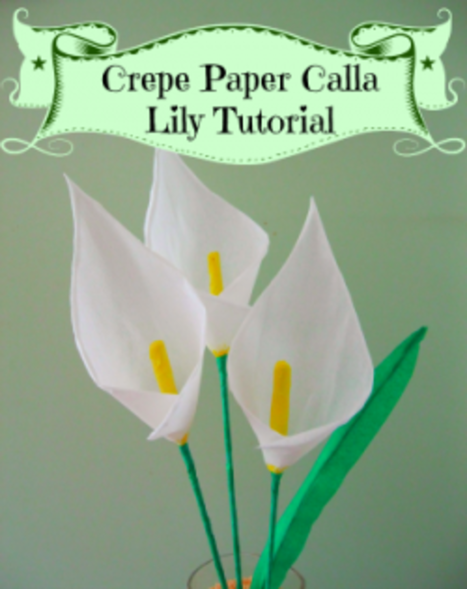 How To Make Crepe Paper Flowers Step By Step Tutorials Hubpages