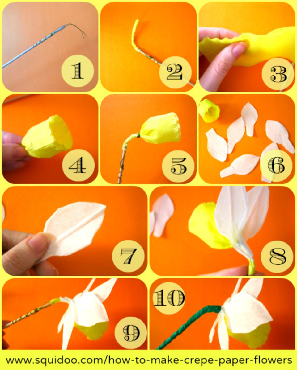 Origami Tulip Craft
