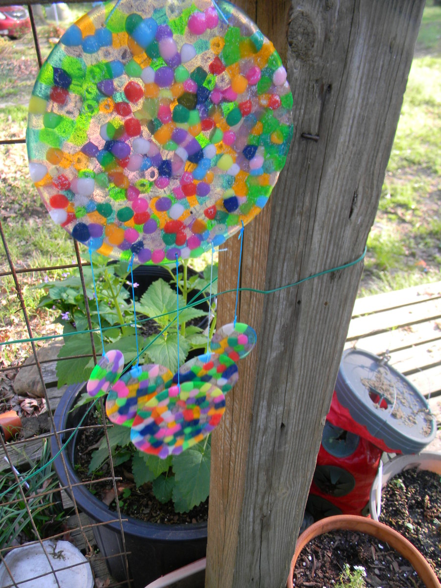 How to Make a Sun Catcher with Beads