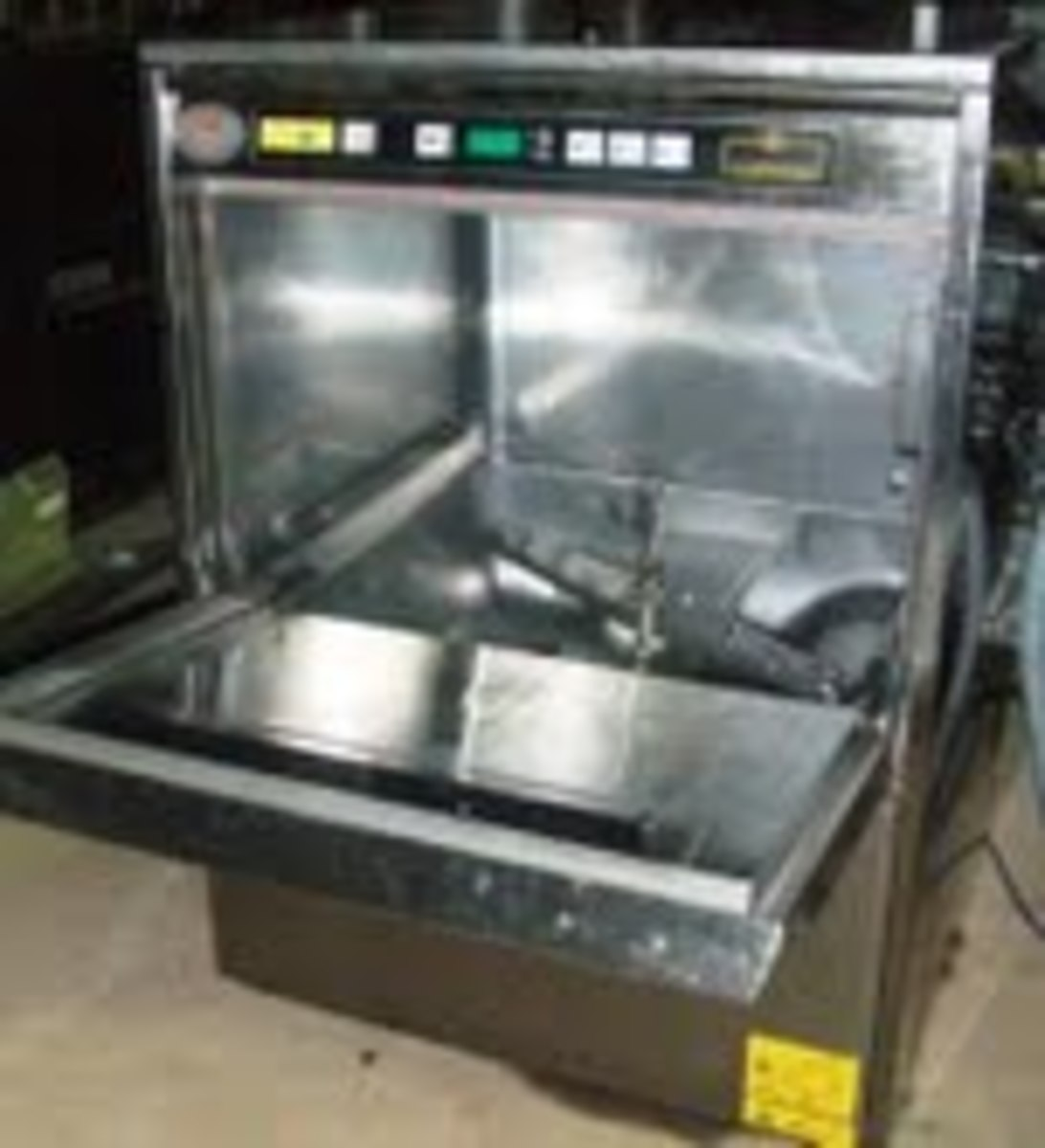Picture of the dishwasher the conman sent to me